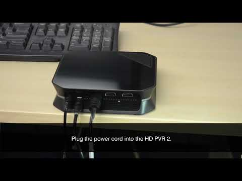 Record From A Cable TV Or Satellite Box With The HD PVR 2