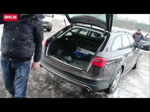 2012 Audi A6 allroad quattro — За кадром