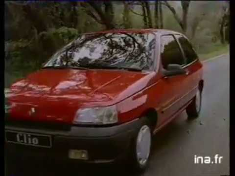 pub renault clio 1990 youtube. Black Bedroom Furniture Sets. Home Design Ideas
