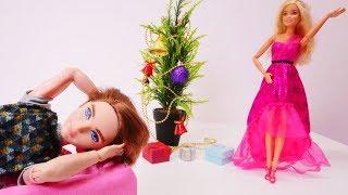 Барби выбирает платье на вечеринку! Игры одевалки для девочек