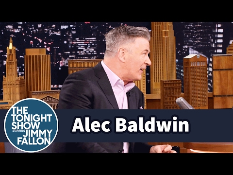 Alec Baldwin Named His Memoir After a Joke He Heard from Michael Gambon