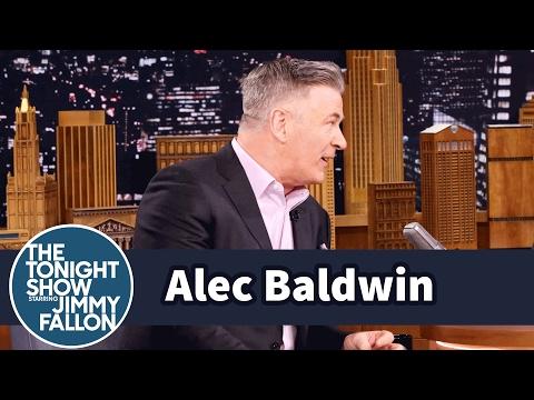 Alec Baldwin Named His Memoir After a Joke He Heard from Michael Gambon