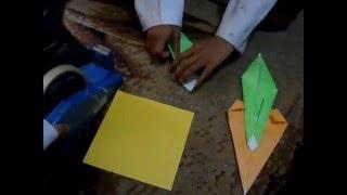 Origami Wortel gampang sekali ( by Aqeela )