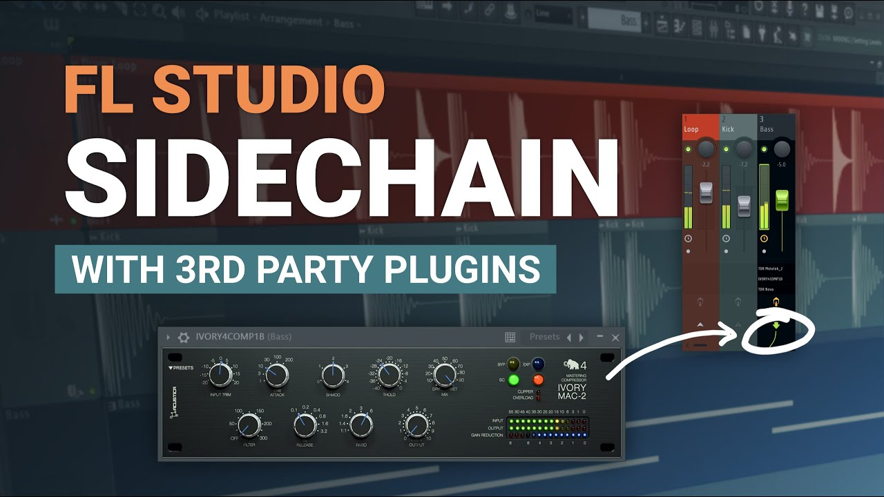How To Sidechain ANY Frequency with Third Party Plugins - Advanced FL Studio Tutorial