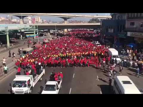 EFF IN KZN marching against political intolerance/killings