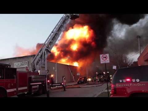 ShapPhoto Massive Chicago 4 11 Alarm fire  11-15-13