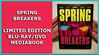 SPRING  BREAKERS - LIMITED BLU-RAY/DVD/CD MEDIABOOK UNBOXING