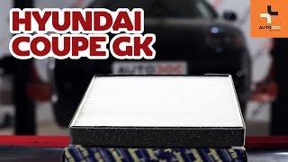 Kako zamenjatifilter kabinenaHyundai Coupe GK VODIČ | AUTODOC