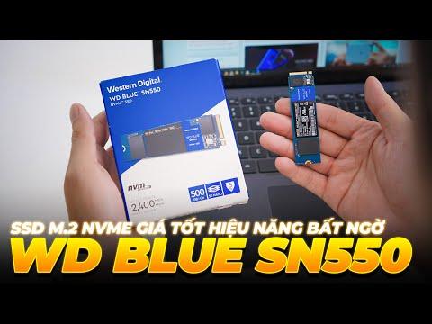 Đánh giá nhanh SSD WD Blue SN550: SSD M.2 NVMe giá tốt hiệu năng bất ngờ!