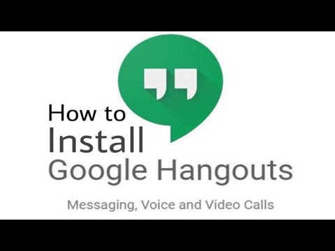 How To Install Google Hangouts App On Iphone | 2019 | Guide | Google Hangouts Information / Issues