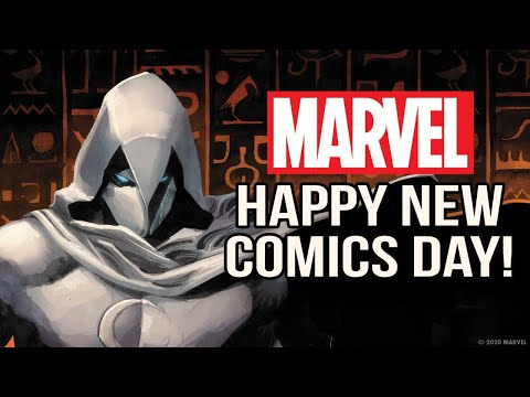 Happy New Comic Book Day From Marvel!