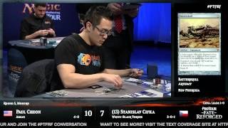 Pro Tour Fate Reforged Round 5 (Modern): Paul Cheon vs. Stanislav Cifka