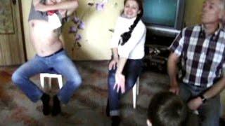 КОНКУРС на ЮБИЛЕЙ. Самый зажигательный танец на стульях(Конкурс на юбилей. Весело всем! Еще видео на тему:
