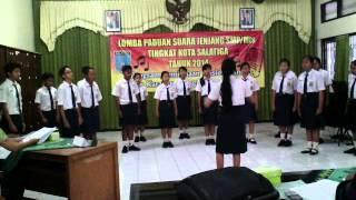Paduan Suara SMP N 1 Saltiga 2014..... GO VOG!!!!