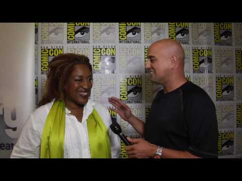CCH Pounder (Mrs Frederic) interview for Warehouse 13 at Comic Con 2010