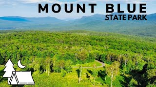 Camping at Mount BĮue State Park in Maine