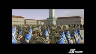Rome: Total War PC Games Gameplay-Cinematic - Roman Scipii