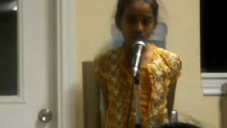 Vaishu on Megame Tamil song