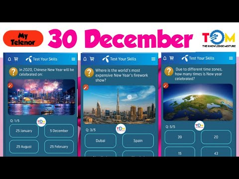 my-telenor-play-and-win-30-dec-all-answers- -telenor-quiz-30-december- -test-your-skills