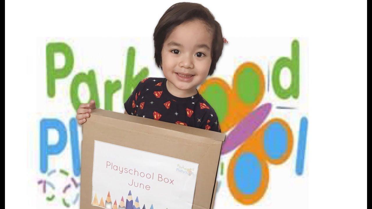 Unboxing | Parkwood Playschool Box