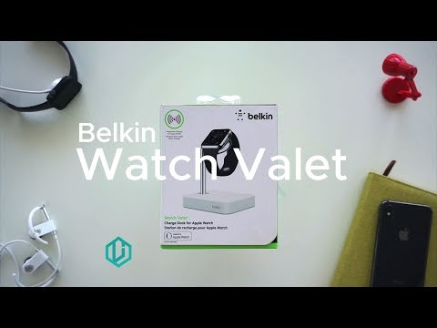 Belkin Watch Valet Review and Unboxing - Apple Watch Charging Stand