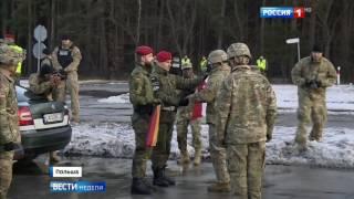Американские танки в Польше  Атлантическая решимость в ускоренном режиме