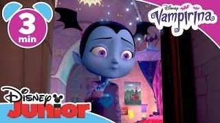 Vampirina | Straszne nocowanie 🌜 🦇 | Oglądaj w Disney Junior!