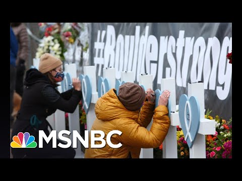 Polis Reacts To Colorado's 'Horrific' Mass Shooting History | The 11th Hour | MSNBC
