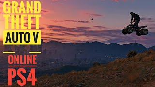 Grand Theft Auto V PS4 Online