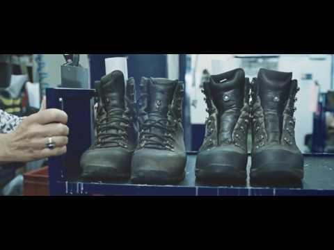 Производство и ремонт обуви Lowa. Ручная работа.