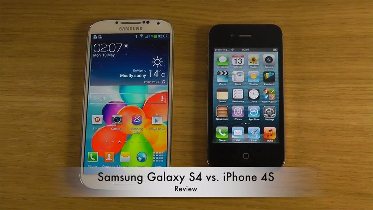 SAMSUNG GALAXY S4 VS IPHONE 4S CAMERA