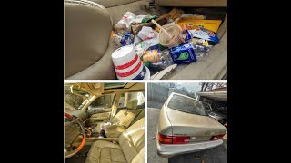 EXTREMELY DIRTY Car gets detailed | Lexus LS400 | Trashed filled | Interior Detail | Restoration