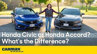 Honda Civic or Honda Accord? Specs, Price, Interior, Engines, Driving & More!