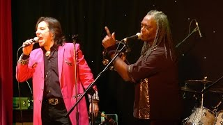 Showaddywaddy 2015, when they perform Three Steps to Heaven, Nantwich Civic Hall