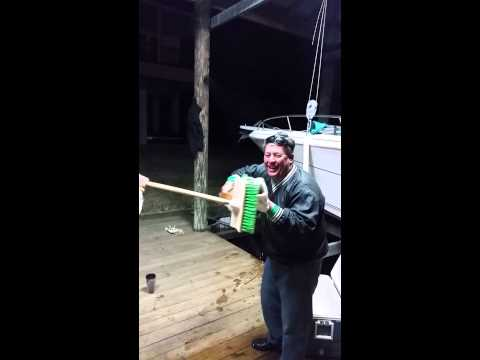 How to clean a redfish..