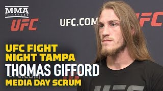 Thomas Gifford Has Unfinished Business with Brok Weaver After UFC Tampa- MMA Fighting