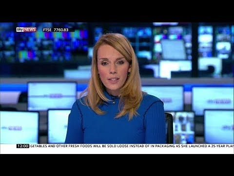 Rebecca Williams pres/interviews 11.1.18 - Sky News 1200