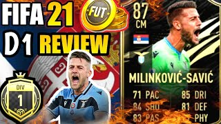 FIFA 21 SERGEJ MILINKOVIC SAVIC INFORM REVIEW TESTED IN DIVISION 1 (2ND INFORM)