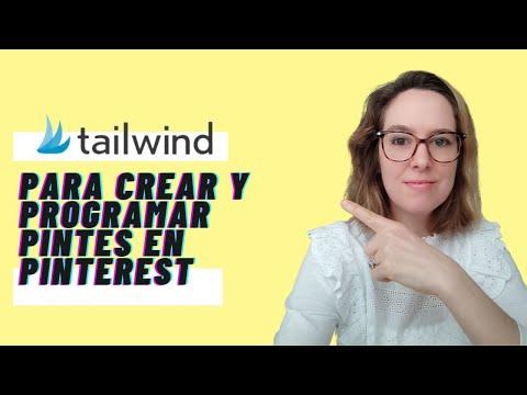 Cómo crear pines y publicar pines en Pinterest usando Tailwind