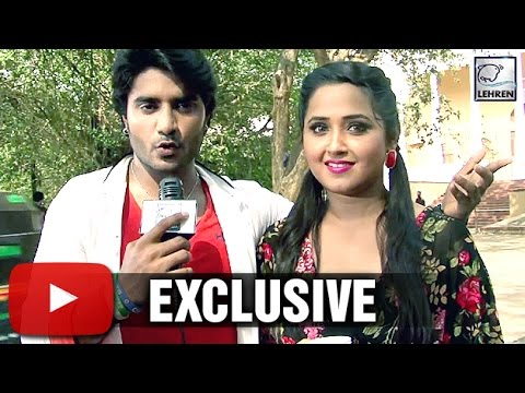 DEEWANE Pradeep Pandey Kajal Raghwani's EXCLUSIVE Interview | Lehren Bhojpuri: The most popular Superstar of Bhojpuri cinema Pradeep Pandey is coming up with his new movie 'Deewane'. Movie also features hot actress Kajal Raghwani in a very special song.Check out actor's exclusive interview.   Log On To Our Official Website : http://www.lehren.tv  Download LEHREN Apps:  Apple App Store Link : http://goo.gl/xnqE7C Android Play Store Link : http://goo.gl/3Cvqbc  For More Updates:  Subscribe: http://www.youtube.com/subscription_center?add_user=lehrenBhojpuri Like: https://www.facebook.com/LehrenNetworks Follow: https://twitter.com/Lehrennetworks  Dailymotion link - http://www.dailymotion.com/lehrenBhojpuri