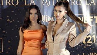 """Alyshia Barragan, Evangelina Williams """"TEATRO LA"""" Party Red Carpet"""