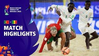Portugal v Senegal FIFA Beach Soccer World Cup 2021 Match Highlights