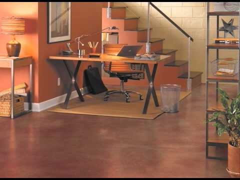 Behr Premium 174 Decorative Concrete Dye Youtube
