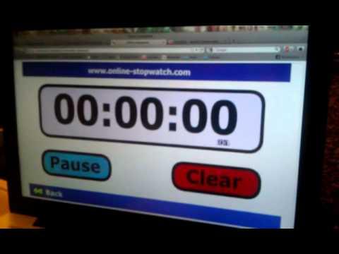 World record for saying alphabet backwards.