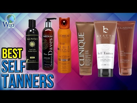 10 Best Self Tanners 2017