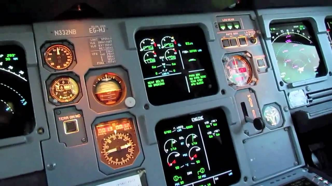A380 Wallpaper Hd Hd Airbus A320 Cockpit Tour Youtube