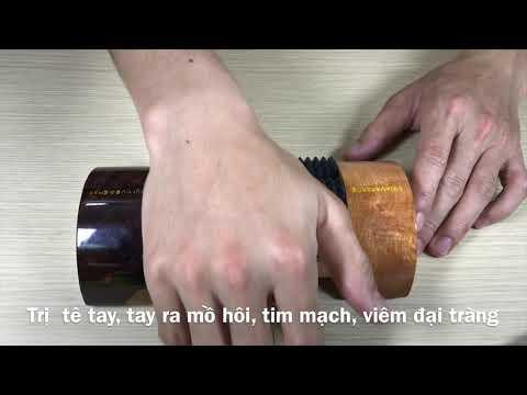 Bàn lăn tay diện chẩn chữa tê tay, thấp khớp