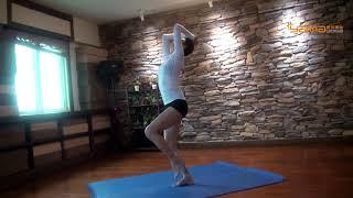 西安娅玛瑜伽刘娅丽老师弓道瑜伽欣赏(beauty of the flow yoga)