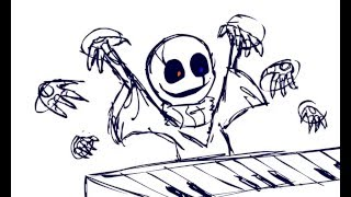 Gaster Takes Piano Lessons [ANIMATION]