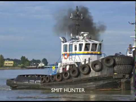 PACIFIC tugboat WESTMINSTER HUNTER 1990's